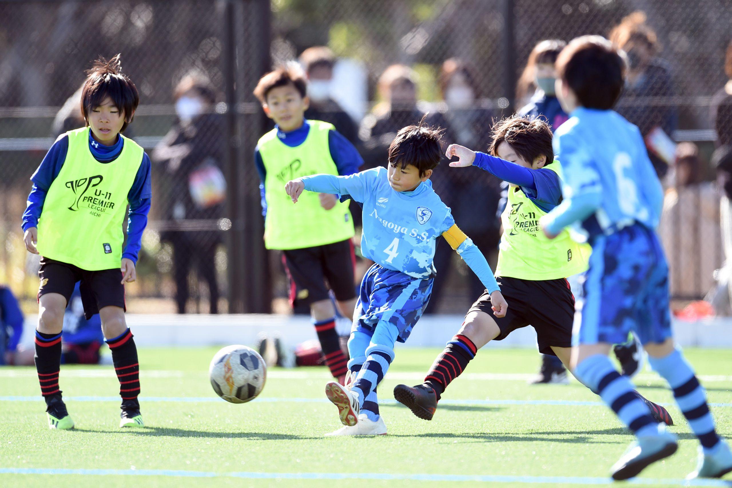 サッカークラブの試合